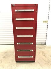 Stanley Vidmar 7 Drawer Cabinet - Eye Height. Model RP3502AL