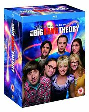THE BIG BANG THEORY Complete Season 1+2+3+4+5+6+7+8 blu ray Box Set Series RB