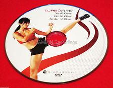 TURBO FIRE - FIRE 45 CLASS + STRETCH 10 CLASS - DVD - BRAND NEW