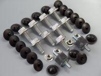 Einbausatz Clips Unterfahrschutz Set für Ford Galaxy Seat Alhambra VW Sharan T4