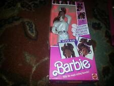 1986 SUPER HAIR BARBIE AFRICAN AMERICAN NEW IN BOX