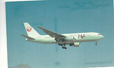 Japan Air Lines Boeing B-767-246 Kai Tak Hong Kong Unused Pc 984 Plane