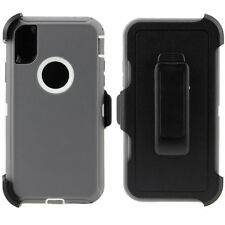 Apple iPhone X 10 Case Cover {Belt Clip fits Otterbox Defender}