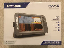 Lowrance HOOK2-5 5 Fishfinder//Chartplotter with SplitShot Transom Mount Transducer and US Inland Maps