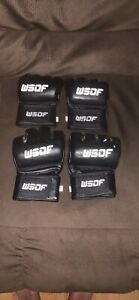 WSOF World Series of Fighting MMA gloves New UFC  XL And LG