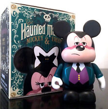 "DISNEY VINYLMATION 3"" HAUNTED MANSION MICKEY MOUSE & FRIENDS BUTLER HALLOWEEN"