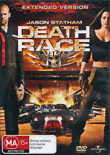Death Race - Action / Violence - Extended Version - Jason Statham - NEW DVD