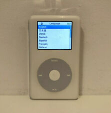 Apple iPod photo classic 4th Generation White (20 GB) w/ New Battery #