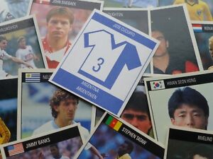 Orbis World Cup Italia 90 Stickers (1-259) - Complete Your Collection