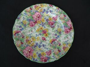 vintage midwinter aof chintz plate