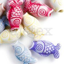 132pcs Animal Charms Perles en acrylique Création de Bijoux collier 9x7.5x5mm