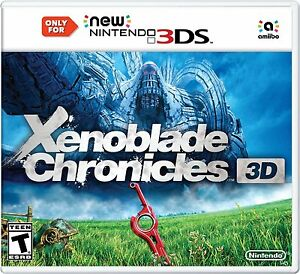 NEW Xenoblade Chronicles 3DS (Nintendo 3DS, 2015)