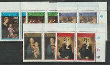 A STOCK CARD OF  STAMPS  FROM ANGTIGUA 1973..