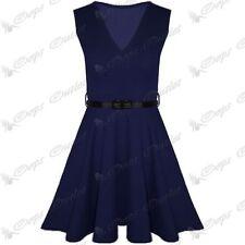 Vestiti da donna blu con scollo a v taglia M