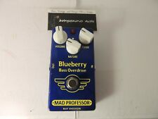 Mad Professor Blueberry Bass Overdrive Effects Pedal FREE USA SHIPPING!!!