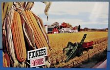 Pioneer Seed Corn ~ Advertising Post Cards 1958 ~ Set of 3 Different
