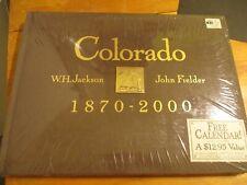 NEW Colorado 1870-2000 WH Jackson John Fielder 1st Edition Hard Cover Book