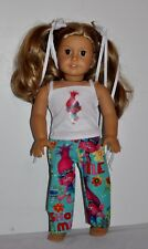 AMERICAN MADE DOLL CLOTHES FOR AMERICAN GIRL DOLL TROLLS - PJS