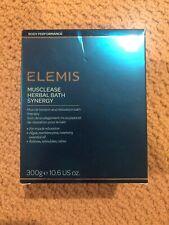 Elemis Cellutox Herbal Bath Synergy 10 sachets NEW