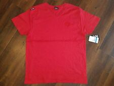 ENYCE RED SHORT SLEEVE V NECK T SHIRT MENS RED V NECK T SHIRT XL NWT