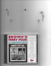 "BROWN'S FERRY FOUR, CD ""16 GREATEST HITS"" NEW SEALED"