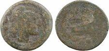 République romaine, anonymes, quadrans, Rome après 211 av JC - 39