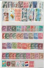 France aerien et preoblitere  62 timbres différant   (n°3)