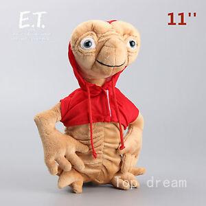 Cartoon E.T. Extra-Terrestrial Alien Plush Soft Toy Stuffed Doll 11'' BigTeddyUK