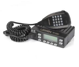 VV-898E DualBand 5W/10W/25W Transceiver VHF/UHF 136-174/400-470MHz Mobile Car