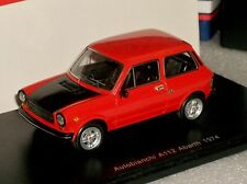 AUTOBIANCHI ABARTH A112 RED 1974 SPARK S1326 1:43