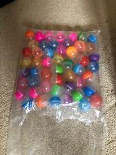 10x palline di plastica Giocattoli capsule con diversi piccoli giocattoli Distributore 45mm o