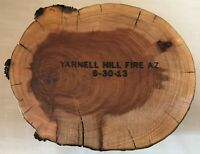 Firefighting Collectibles Historical Fires Memorabilia 2013 Yarnell Hill Fire AZ