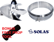 SeaDoo Spark Solas Impeller / Liner / tool combo  stainless prop Jet ski Sea Doo