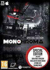 Monochroma SPECIAL EDITION (Mac/PC DVD) BRAND NEW SEALED