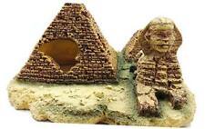M2cbridge Aquarium Decor Castle Fish Tank Decoration Stands Egyptian Pyramid Roc