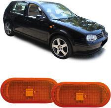 Seitenblinker orange Paar für VW Golf IV Bora T5 Lupo Passat 3B Sharan