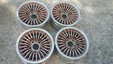 82-92 FIREBIRD TRANS AM TA 14 x 7 SET OF 4 GOLD / SILVER ALUMINUM WHEELS