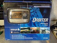 New opened Sirius Orbiter SR4000 Satellite Radio Receiver & Remote New Rare