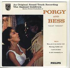 EP UK BOF Porgy and Bess vol.4 Dorothy Dandrige Sidney Poitier Gershwin