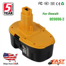 NEW 18V DC9096-2 XRP Battery for Dewalt DC9096 DW9095 DW9096 DW9098 Power Tool