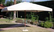 Ombrellone da giardino 3x3mt palo centrale telo idrorepellente Ecru' Oasis M0439