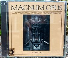 MAGNUM OPUS VOLUME TWO JAMES WELCH WILSON AUDIO RARE  AUDIOPHILE CD  NEW & SEAL
