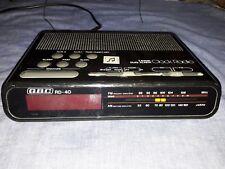 RADIOSVEGLIA GBC  RD 40 Vintage anni 80 radio AM/FM FUNZIONANTE