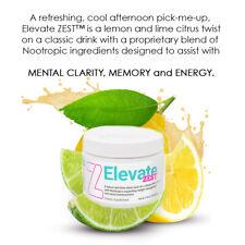 Elevate Happy Zest New Release Lemon Lime Functional Beverage Elevacity Free S/H