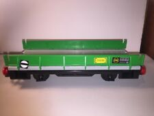 Vintage Playmobil RC Old Timer Train Green Flat Car Model 4021