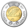 "2017 Canada 2 Dollar (Toonie) 150TH Anniversary Of Canada Coin ""Proof-Like"""