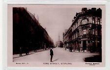 KING STREET, STIRLING: Stirlingshire postcard (C26107)
