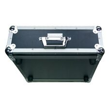 """Accu-Case 2U Double Door Rack Flightcase 19"""" Amplifier CD Player Audio DJ"""