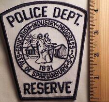 SPARTANBURG SOUTH CAROLINA POLICE RESERVE PATCH (HIGHWAY PATROL, SHERIFF, EMS)