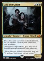 Gisa and Geralf x4 PL Magic the Gathering 4x Eldritch Moon mtg card lot